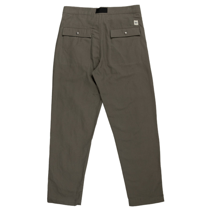Native North Toro Canvas Pant Bottoms Olive Back