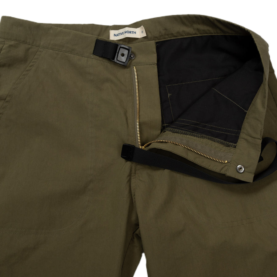 native north toro paper pant green bottoms detail