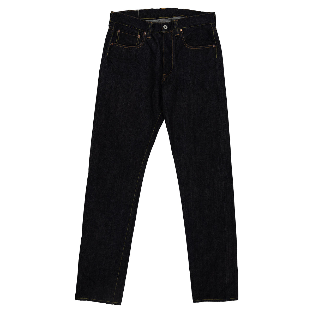 Pallet Life Story Denim Pant Narrow 5 Pockets Raw Front
