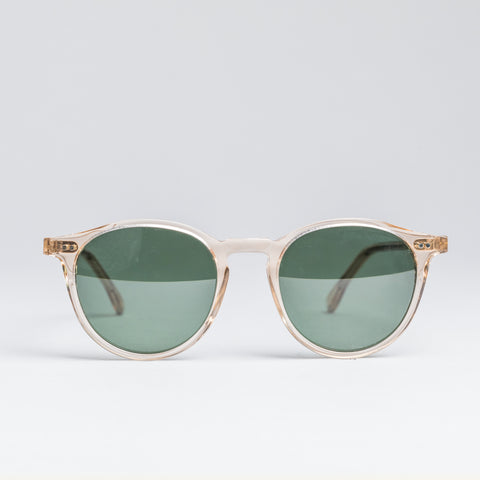 Heritage 1940's Sunglasses - Crystal Beige and Tortoise Temples