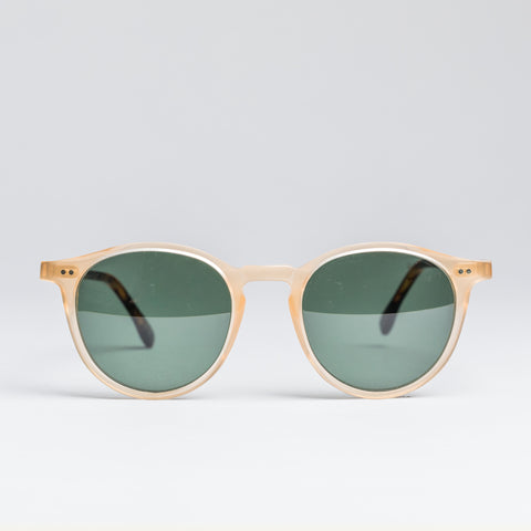 Heritage 1940's Sunglasses - Spring Honey and Mat Dark Tortoise Temples