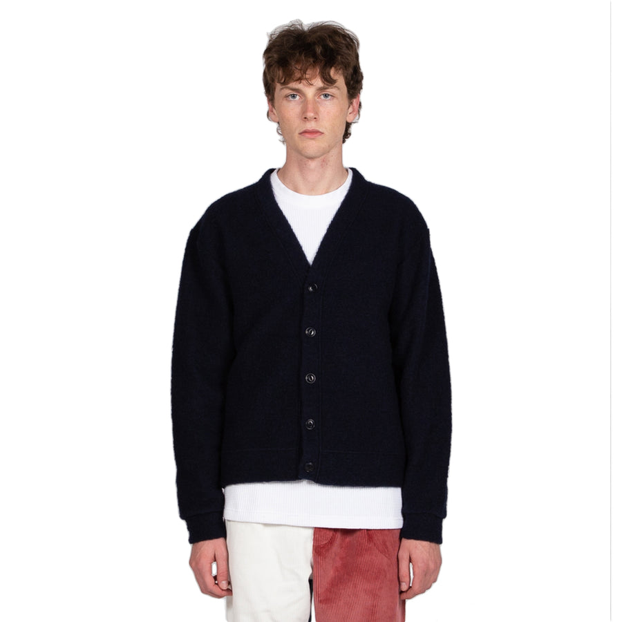 Reception SC Wool Mix Cardigan Navy