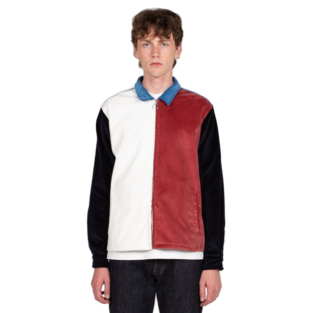 Reception SC Club Jacket Multi Color Outerwear Corduroy Front