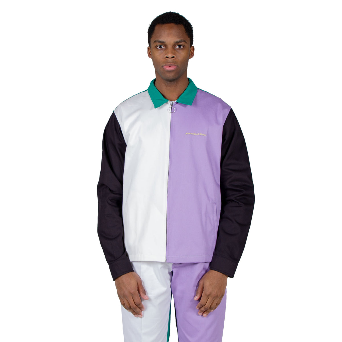 Club Jacket - Multicolor Block