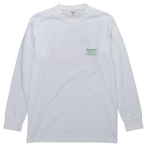 Reception SC Long-Sleeve Tee Shirt Auberge D'Achtal Arcangues France Front