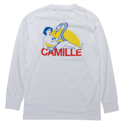 Reception SC Long-Sleeve Tee Shirt Camille Paris France Back