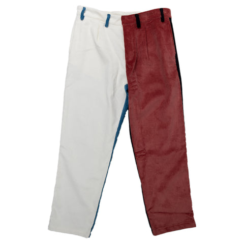 Reception SC Classic Pants Bottoms Corduroy Multi Color Front