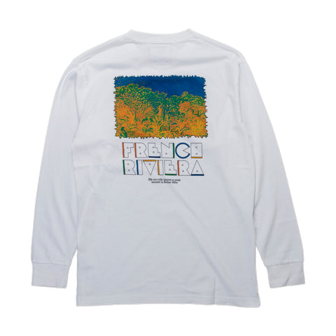 Reception SC Long-Sleeve Tee Shirt L'Esterel Côte d'Azur France Front