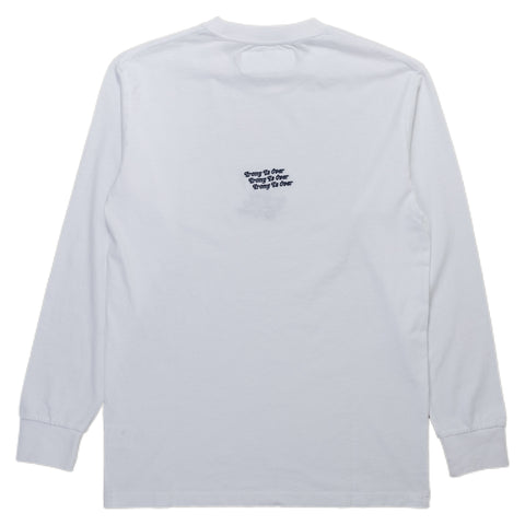 Reception SC Long Sleeve Shirt Irony LS Tee White Back