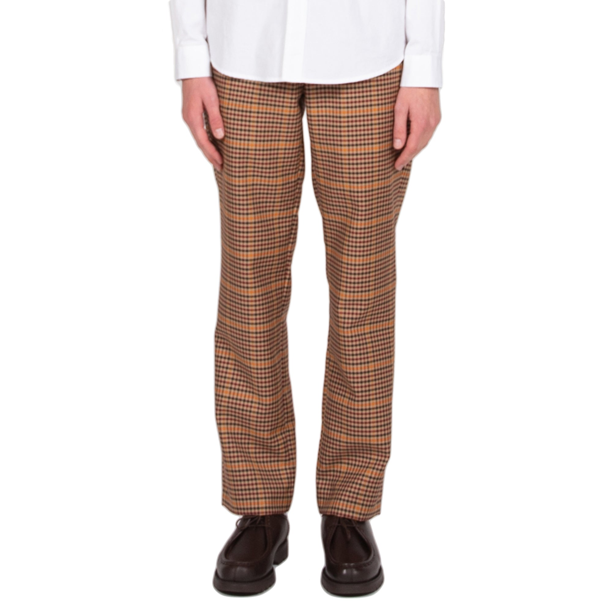 schnaydermans Trousers Overcheck pants bottoms front