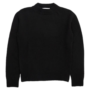 Crew Neck Wool Cashmere - Black