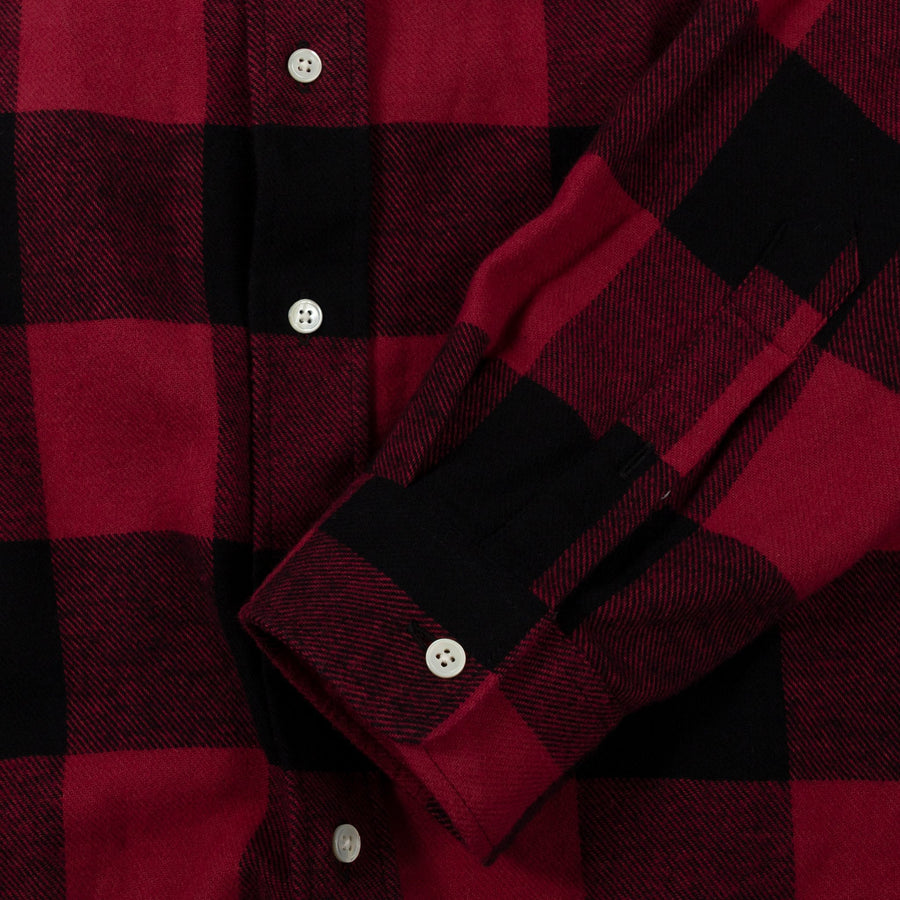 schnaydermans Shirt Twill Flannel button up cuff