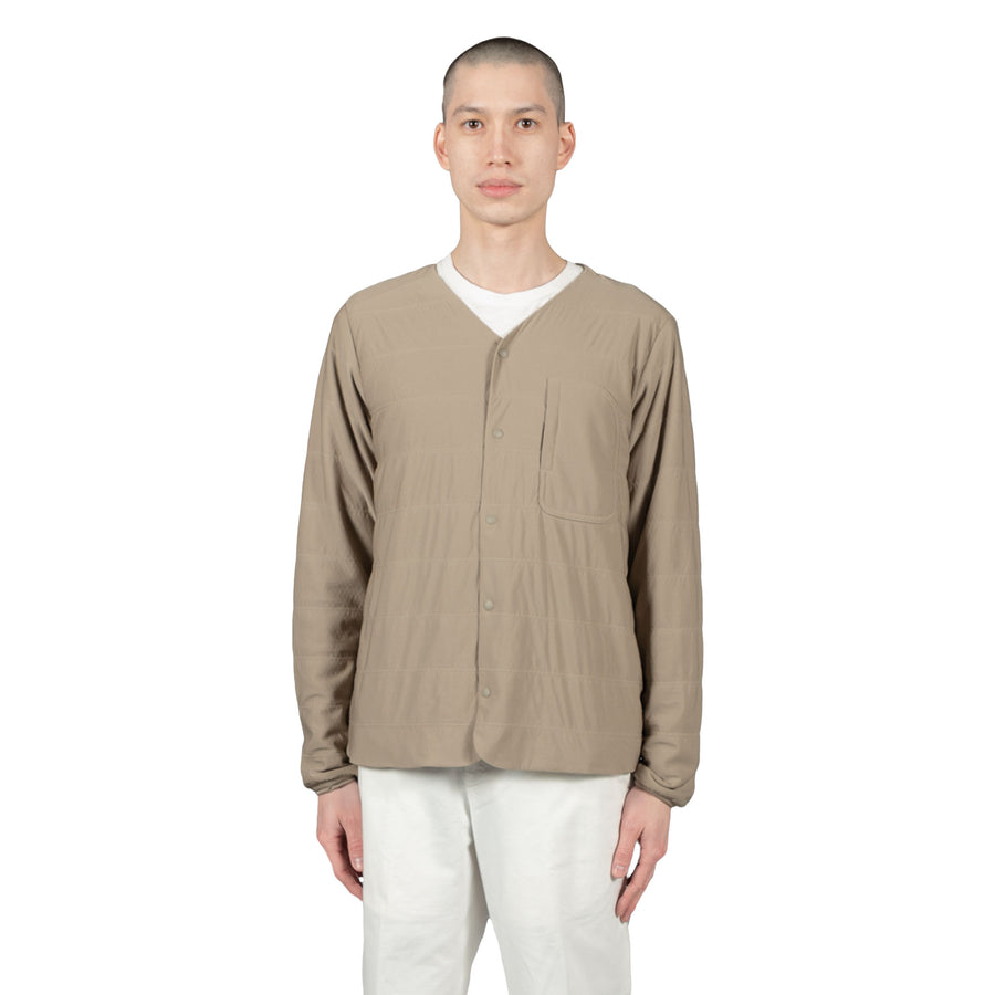 Snow Peak Insulated Cardigan Beige