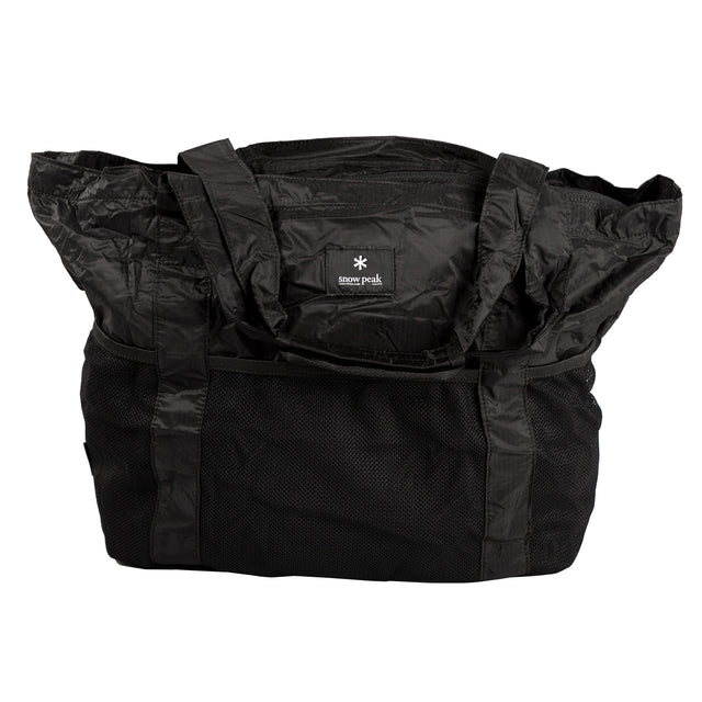 Pocketable Tote Bag Type 02 - Black