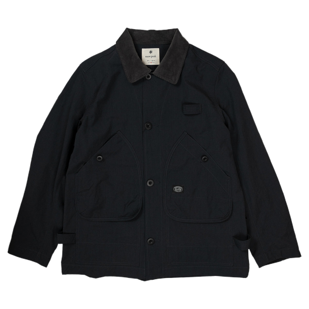 Snow Peak Takibi Coverall Black
