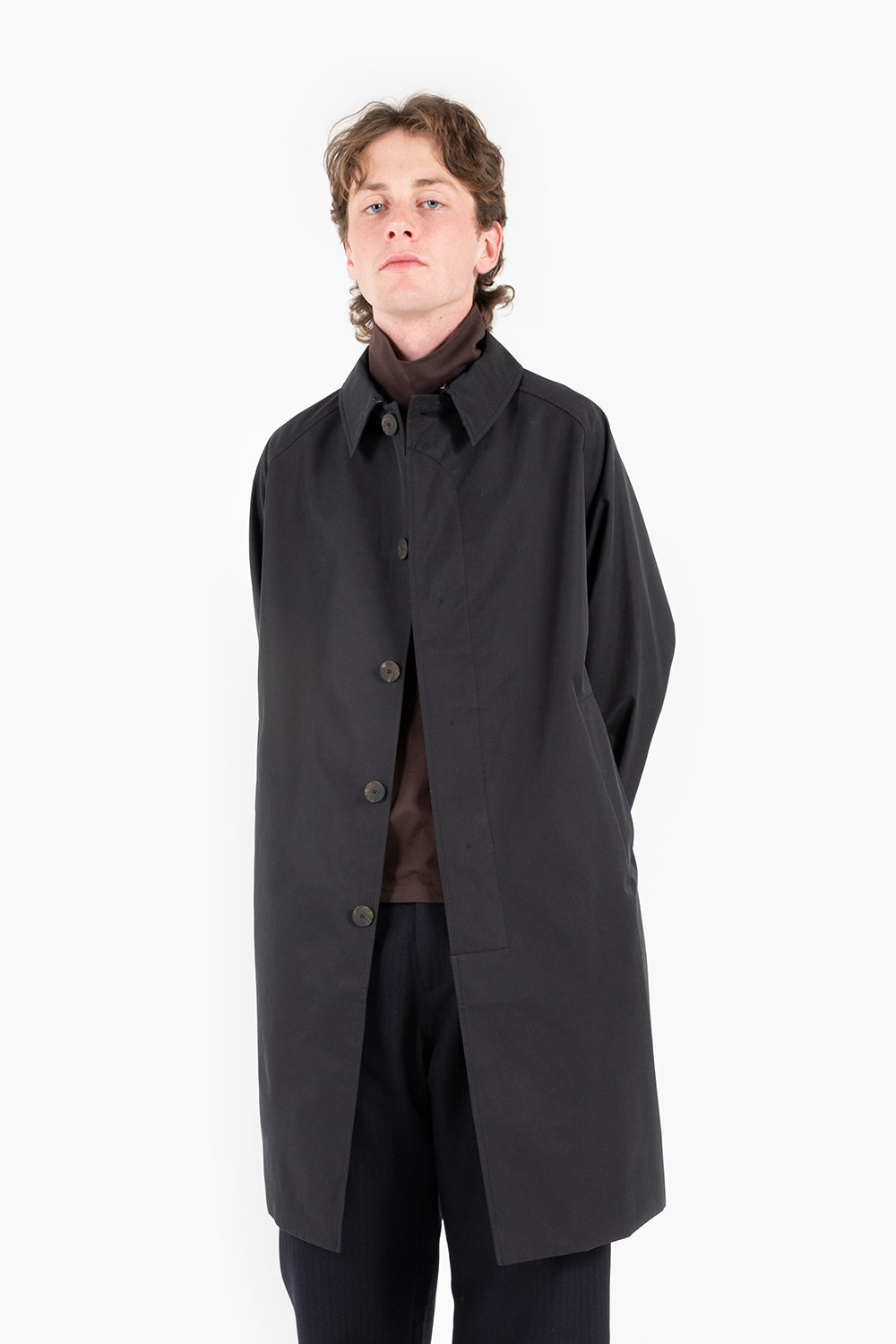 studio nicholson romer coat black