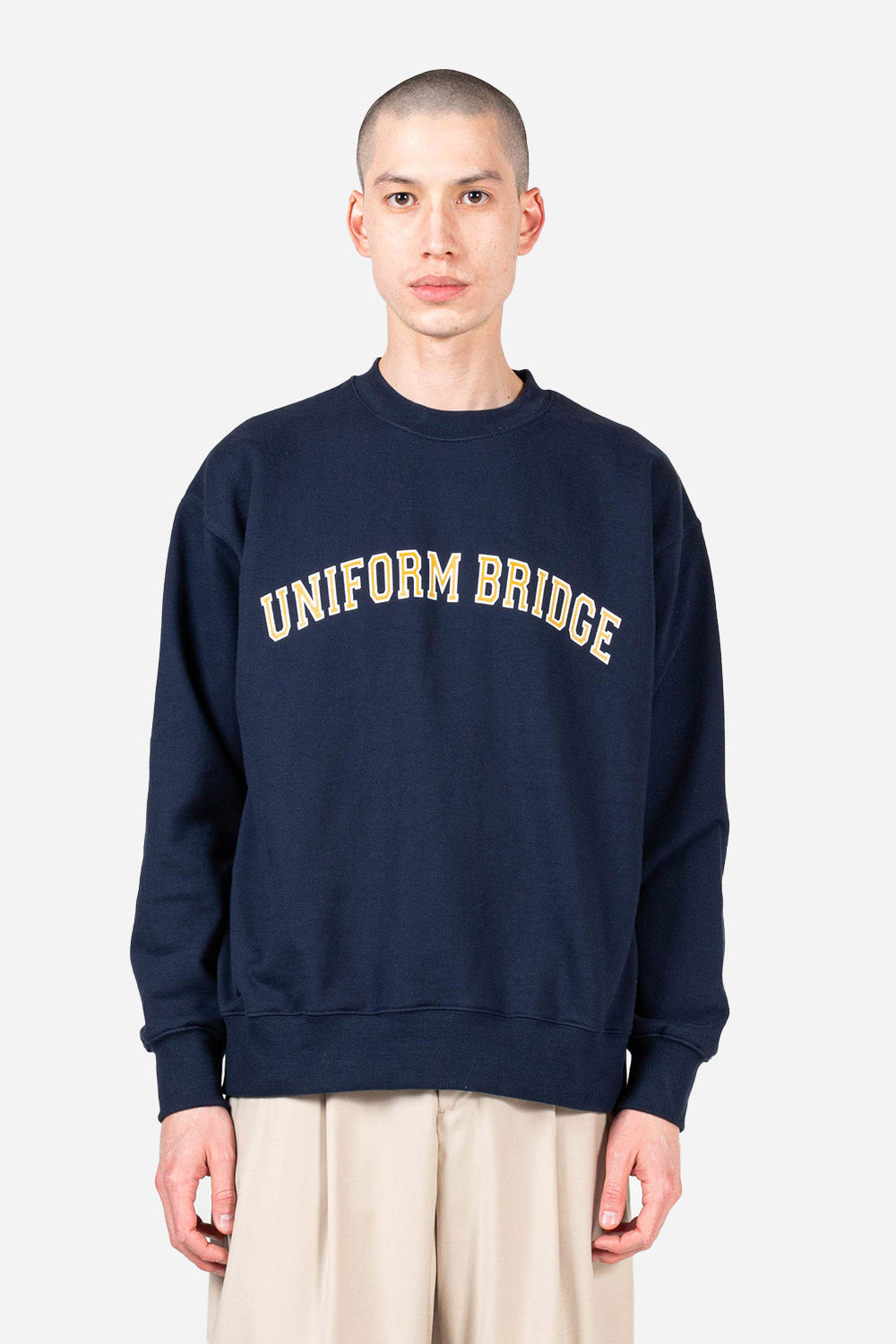 uniform-bridge-arch-logo-sweatshirt-navy