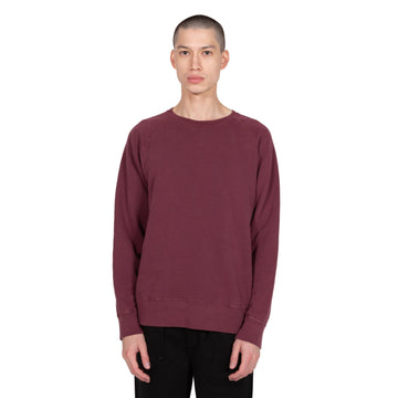 Velva Sheen Freedom Sweatshirt Crewneck 8 oz Pigment Burgundy