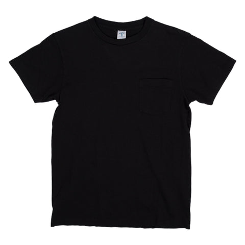 Crewneck Pocket Tee - Black