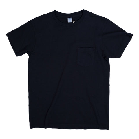 Crewneck Pocket Tee - Navy