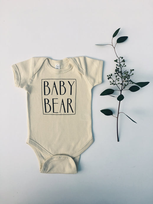 Baby Bear Bodysuit in