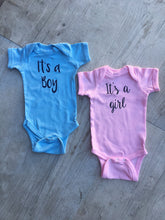Gender Reveal Bundle, It's a Boy and It's a Girl Bodysuits