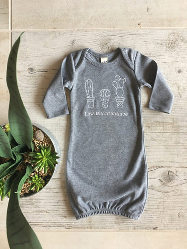 Low Maintenance Sleep Sack, Cactus Sleeper
