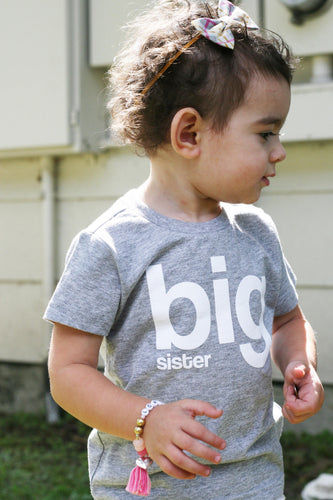Big Sister Shirt, Promoted to Big Sister, I'm Going to be a Big Sister T-Shirt