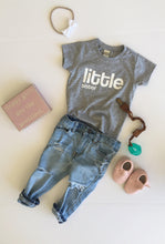 Little Sister Bodysuit or T-Shirt, Baby Sister Shirt, Matching Little Sister to Big Brother or Sister Shirt