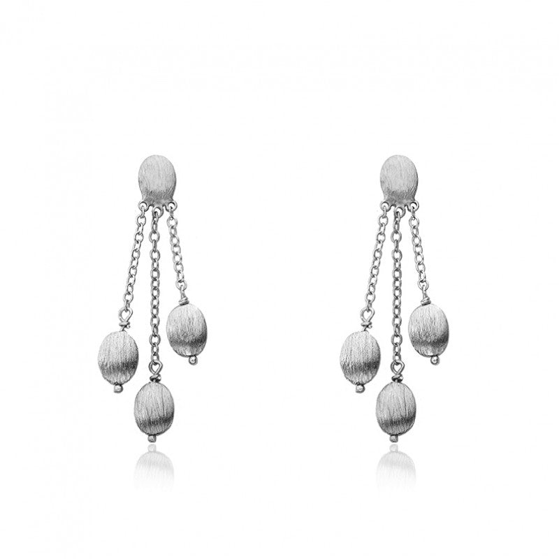 ARCTIC MIST 3 Nuggets Earrings
