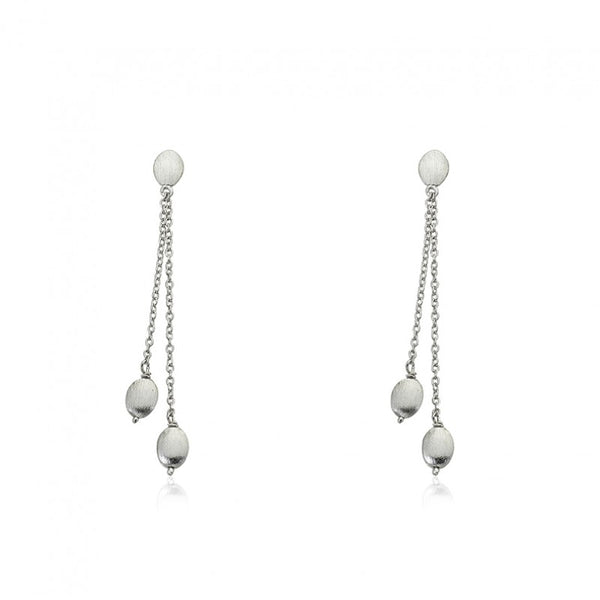 ARCTIC MIST Lariat Nuggets Earrings
