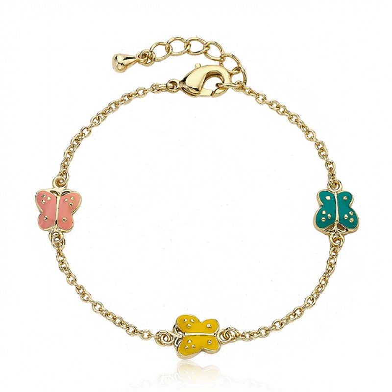 CHARMING TREATS Bracelet With Butterfly Charms