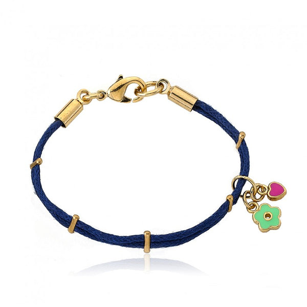 JEWEL BANDZ Ribbon Charm Bracelet