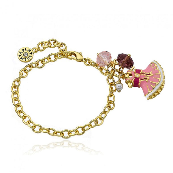 BALLET BEAUTY Ballet Dress Charm Bracelet