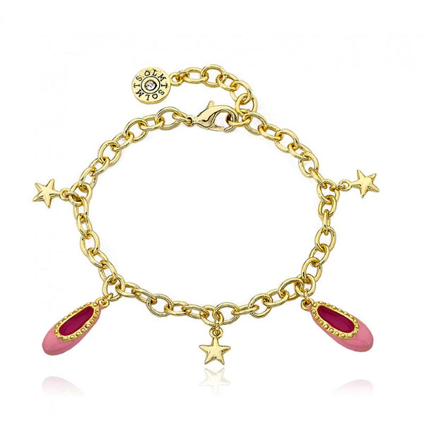 BALLET BEAUTY Ballet Slippers and Star Charm Bracelet
