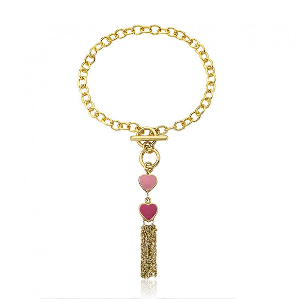 I LOVE MY JEWELS Tassel Bracelet