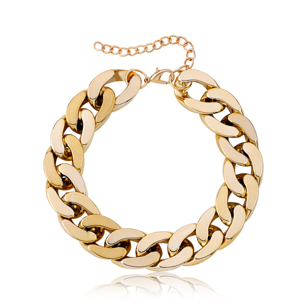 Chain Link Pet Necklace