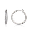 Retro Classic Hoop Earrings