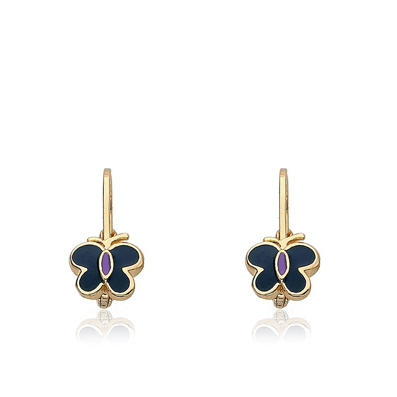 Charming Treats Butterfly Leverback Earring