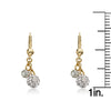 GLITZ BLITZ 2 Crystal Ball Dangle Earrings