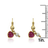Heart Of Jewels Crystal Heart Dangle Earrings 4