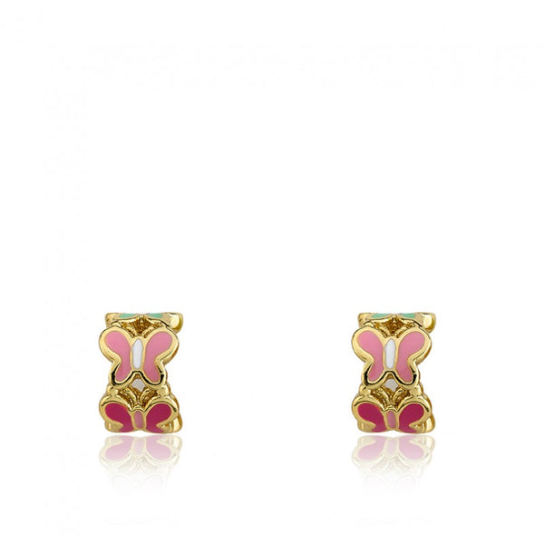 CHARMING TREATS Butterflies Huggy Earring