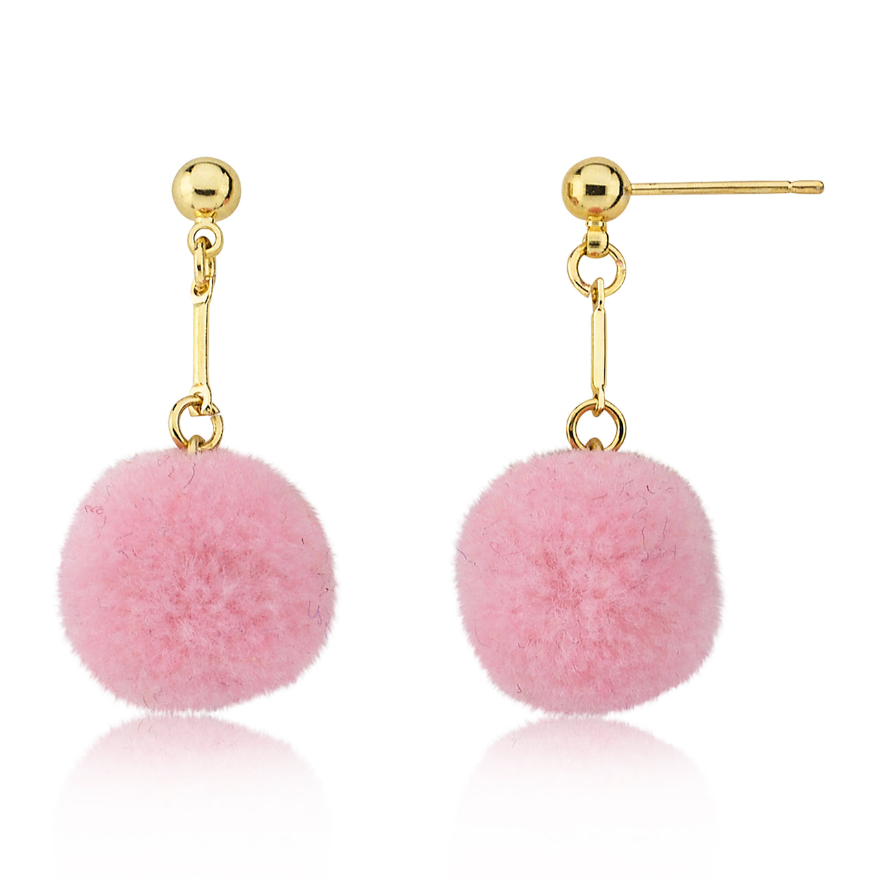 Mileez Pom Pom Dangle Earring