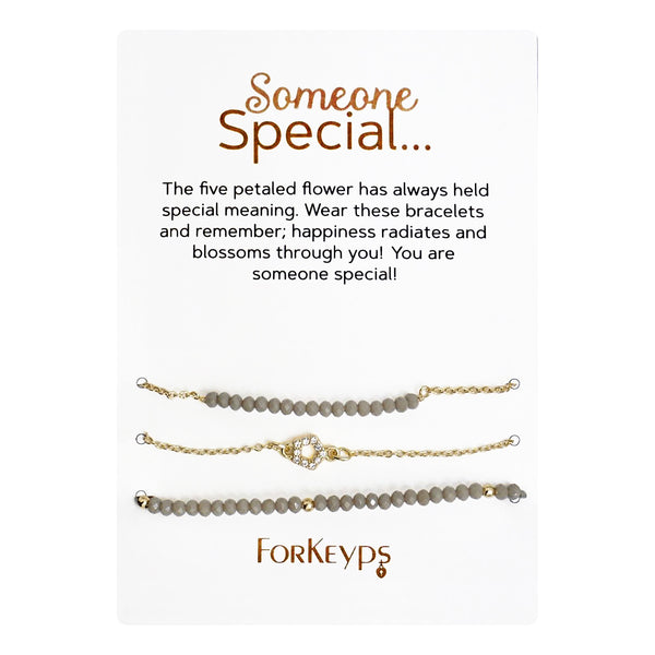 """Someone Special"" Bracelets Gift Box Set"