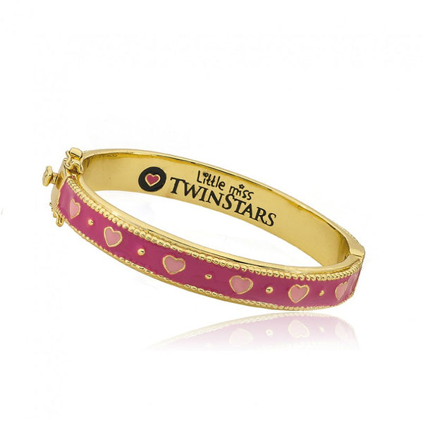 OUTFIT MAKERS Hot Pink Hinged Bangle