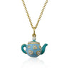 Tea 4 Two Crystal Tea Pot Necklace 3