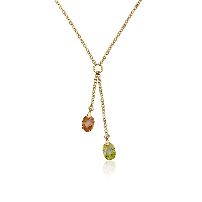 CLASSIC Crystal Lariat Necklace