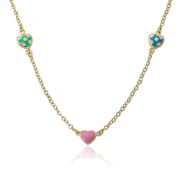 I LOVE MY JEWELS Adorable Heart Chain Necklace