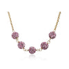 GLITZ BLITZ Crystal Ball Necklace