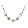 GLITZ BLITZ Crystal Ball Necklace 3